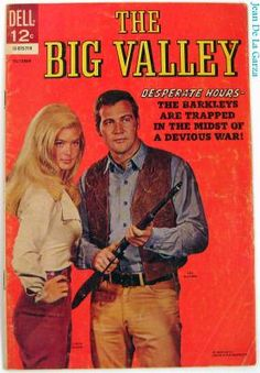 8/03/15  8:37a ''The Big Valley''   Linda Evans Lee Majors Dell  Mag   Western TV  yeardselr.com