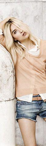 Camisa Maria, sw Morgan, short desflecado, cintur?n Marbella
