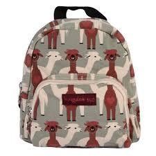 Bungalow360 Kids Mini VEGAN Backpack (Alpacas) 80508-AL Alpaca Plushie 4a6f66d344ca