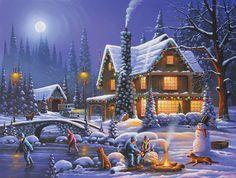 Holiday Spirit Jigsaw Puzzle