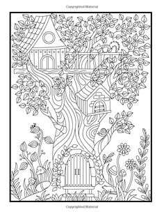 Hidden Garden An Adult Coloring Book With Secret Forest Animals Enchanted Flower Designs