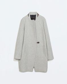 MASCULINE WOOL  COAT from Zara