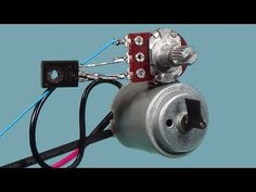 How to make 12 volt DC Motor Speed Controller simple diy - YouTube