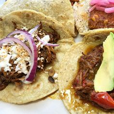 We're giving away 1 ticket to @avitaltours in #downtownLA this #Saturday comment below if you can go! Use code 'lafoodie' on their site for $5 off tix #guisados #dtla #MolePoblano