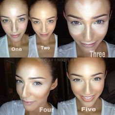 The power of contouring makeup