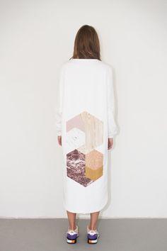 Textile design by Anna Lund Mortensen / Artwork by Kristina Krogh