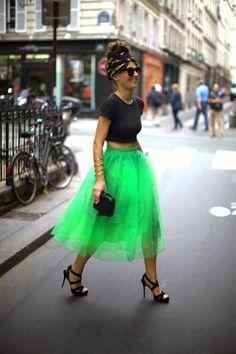 ALL THAT SHE WANTS - blog de moda: Inspiración: faldas de tul