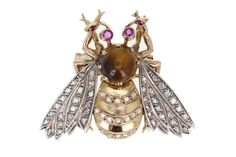 Antique Bumble Bee Brooch by TrafalgarJewellers on Etsy https://www.etsy.com/listing/251877121/antique-bumble-bee-brooch