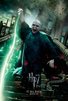 Voldemort someone who has no conscience, no remorse, and unwillingness to change in order to save himself. A true evil being.