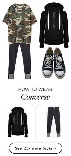 """""""I Need You"""" by cecilia-payne-1 on Polyvore featuring Zara and Converse"""