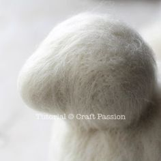 Tutorial with very detailed instructions on how to make needle felted sheep, Ramie. Ramie has a beautiful thick wool coat, big brown nose and rosy cheeks. – Page 2 of 2