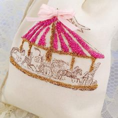 Carousel Party Favor Bags Carousel Party by MemoryKeepsakeParty