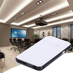 (264.00$)  Buy here - http://aivgm.worlditems.win/all/product.php?id=32782924481 - Portable Mini DLP  Projector HD 1080P  Smart wifi Home Theater Projector