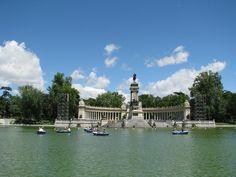 Parque del Buen Retiro - Madrid, Espagne