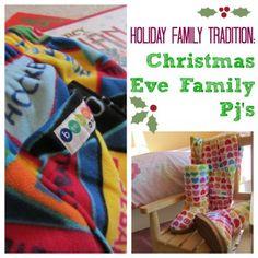 Christmas Eve Tradition: Family Pajamas from Teach Mama