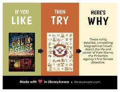 A quick addition to the stacks... LibraryAware's Like, Try, Why flyers are so much fun to use! Search Flyers-Books to see them all.