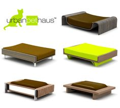 Urban Pet Haus Bed Designs