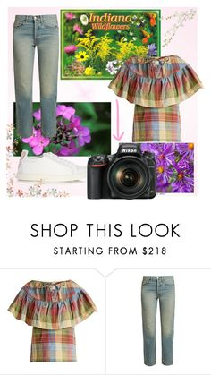 """Let's Get Back to Nature"" by diane-fritz-sager on Polyvore featuring ace & jig, Elizabeth and James and Sophia Webster"