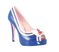 La Matey Sailor Shoes Size 7