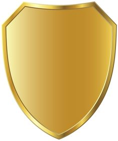 Gold Badge Template Clipart Image