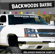 Evil Princess Decal Custom Windshield Banner - Country custom vinyl decals for trucks