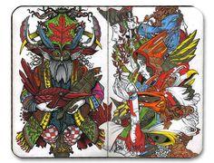 The Daily Muse: David Habben, Illustrator Curated by Elusive Muse http://elusivemu.se/david-habben/  ©2015, All Rights Reserved, David Habben