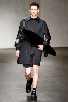 Refined Skater Runways - The Xander Zhou Spring/Summer 2015 Collection is an Elegant Take on Grunge (GALLERY)
