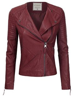 d9152d68e96 Search for JJ Perfection Women's Long Sleeve Classic Ribbed Faux Leather  Jacket today, at our affordable website Women's Clothing Center!