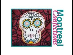 ▶ Day of the Dead cookies - Sugar Skull cookies - YouTube