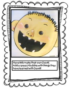 Back to School With David:    First Grade Wow: Me and My School