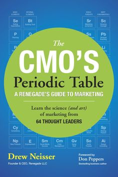 CMO's Periodic Table, The: A Renegade's Guide to Marketing Drew Neisser 2016 CMOPoster (application/pdf) Animal Adaptations, Termite Control, Gross Motor Skills, College Humor, Periodic Table, Marketing, How To Plan, Learning, Essential Elements