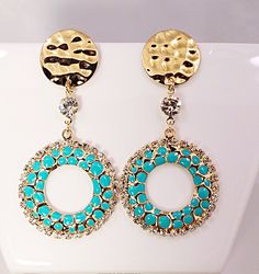 Check out our summer day earrings