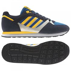 93af6b2d3346c ZX 100 ADIDAS ORIGINALS TRAINERS FOR MEN IN BLUEBIRD SUNSHINE BL - ADIDAS  ORIGINALS - MelMorgan Sports