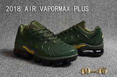 official photos f88ee f9ccb Nike Air Vapormax TN Plus 2018 KPU Green Gold Men Sneakers