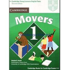 Cambridge Young Learners English Tests Movers 1 Student's Book: Examination Papers from the University of Cambridge ESOL Examinations Cambridge Test, Cambridge Book, Cambridge English, English Test, Learn English, Ebooks Pdf, Past Papers, Grammar Lessons, Student