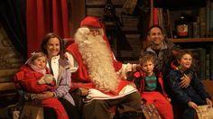 Santa Claus' Village in Lapland Finland - Rovaniemi, Arctic Circle - Fat...