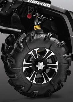 2015 Can-Am Outlander 800R X MR Wheels