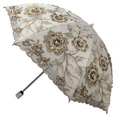 New Women Folding/Anti-UV/Sun Rain Protection/Parasol Embroidery Lace Umbrella