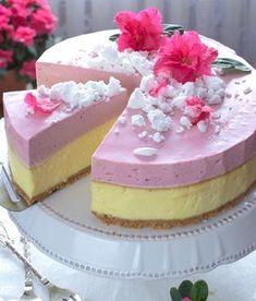 Sernik pod truskawkową pianką Sweets Recipes, Baking Recipes, Cookie Recipes, Desserts, Chocolates, Different Cakes, Polish Recipes, Something Sweet, Desert Recipes