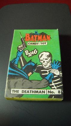 Vintage 1966 Batman Candy Box Phoenix Candy Co Brooklyn NY | eBay