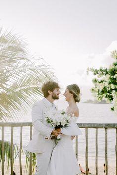 Inspire Blog – Casamentos Casamento tropical chic de Monique e Bruno - Inspire Blog - Casamentos