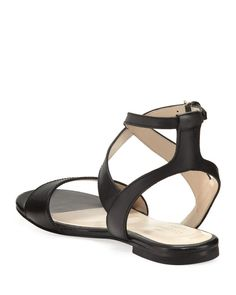 Cole Haan - Fenley Grand Ankle-Wrap Flat Sandal Flat Sandals, Flats, Celebrity Shoes, Shoe Sites, Cole Haan Shoes, Ankle, The Originals, Celebrities, Fashion