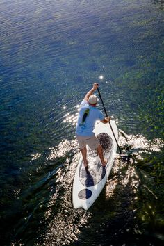 Waves or no waves, a stand-up paddleboard will let you walk on water.