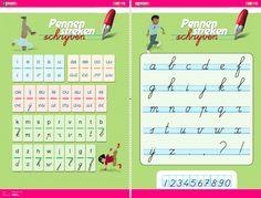 Letterposter Pennenstreken | Zwijsen