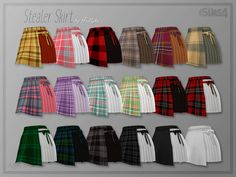 Asymmetric skirt with a bow detail on one side. Found in TSR Category 'Sims 4 Female Everyday' The Sims 4 Pc, Sims 4 Teen, My Sims, Sims Cc, Sims 4 Game Mods, Sims Mods, Sims 4 Toddler Clothes, Sims 4 Characters, Sims4 Clothes