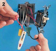 Instalaciones eléctricas residenciales - Haciendo prueba de voltaje en apagador de cuatro vías