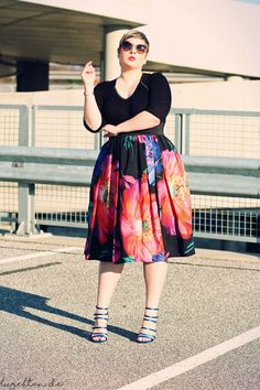 German Plus Size Fashion Blogger - Lu zieht an.®