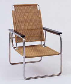 Marcel Breuer (American, born Hungary. 1902–1981) Lounge Chair (model B25)  Manufacturer:     Thonet, Germany Date:     1928-29