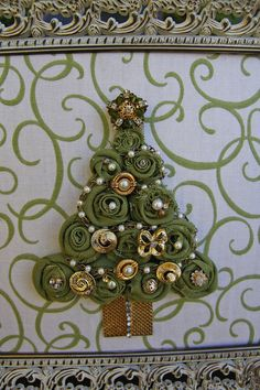 Vintage jewelry tree- beautiful!