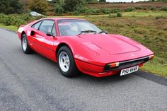 1976 Ferrari, 308 GTB  139995.00 GBP  Ferrari 308 GTB (Vetroresina) fibreglass carburettor car. 1976 Rosso Corsa with tan interior, this is a very rare early dry sump car, the wet sump cars were mainly built for the US and Australian markets and the dry sump for the European cars. The dry sump cars are also the only ones given Group 4 Homologation for competition. This all makes this car very rare indeed and a wi ..  http://www.collectioncar.com/detailed.php?ad=62534&category_id=1